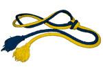 corde jaune/bleue