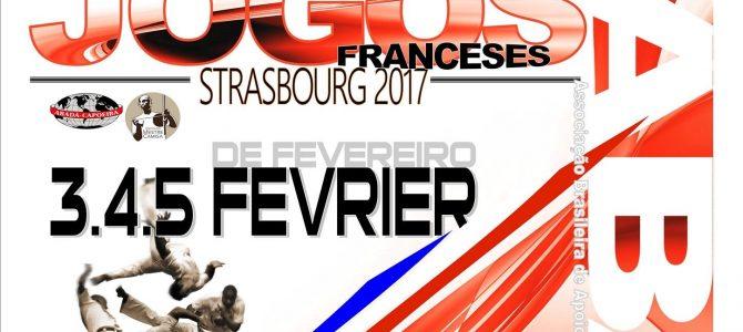 3/4/5 Février – Jeux Français 2017 – Strasbourg