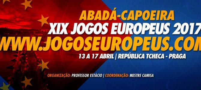 14/15/16/17 Avril – XIX Jeux Européens 2017 – Prague