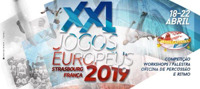 XXIème Jeux Européens du 18 au 22 avril à Strasbourg