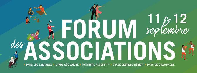 11 & 12 Septembre 2021 – 22ème Forum des Associations